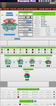 Pokemon #3 Venusaur from Pokemon Pets MMO
