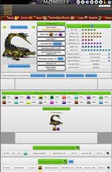 Monster #3 Jolteta from MonsterMMORPG RPG