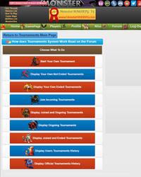 Monster MMORPG V5 has arrived - Tournaments System
