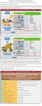 How Pokemon Pets Game Give Credits to Artists
