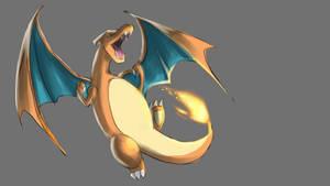 Pokemon doodle - Charizard