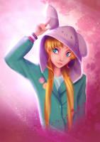 Usagi hoodie by Hynael
