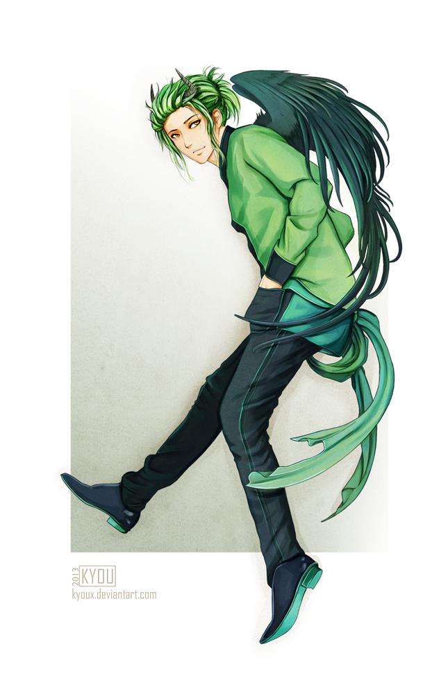 Commission - Sasuke by Kyoux