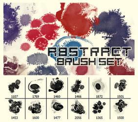 Abstract Brush Set by KiyuMiyu