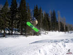 Snowboarder At Sunrise 1 by Tsitra360