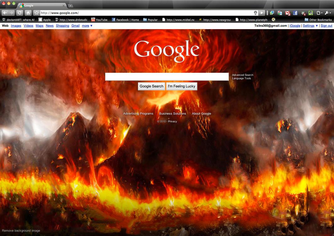 My Google Background by Tsitra360 on DeviantArt