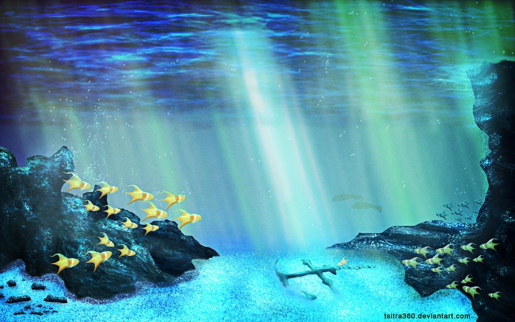 Ocean Floor_Speed Painting by Tsitra360