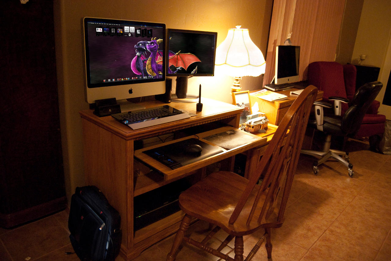 iMac Setup 5 by Tsitra360