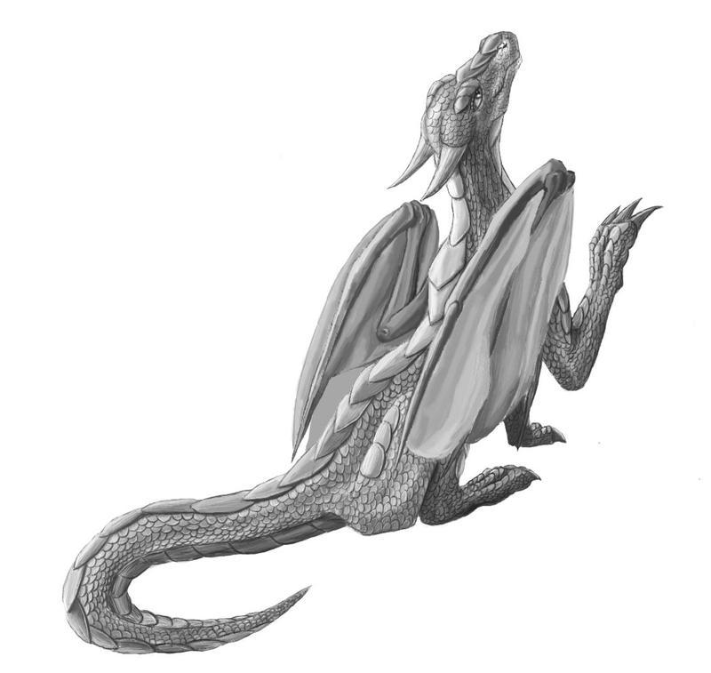 Dragon WIP by Tsitra360