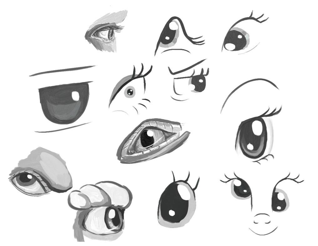 Eye Doodles by Tsitra360