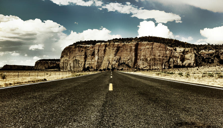 Dead End Highway by Tsitra360