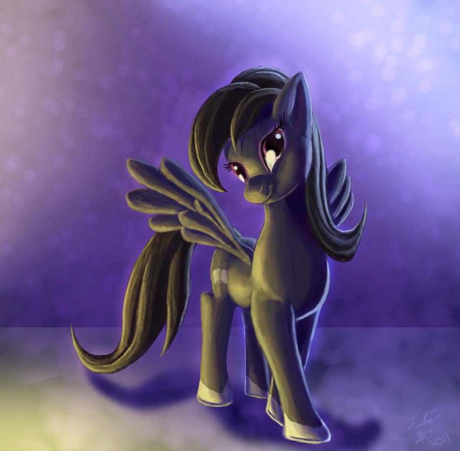 Dream Pony_Speedpaint by Tsitra360