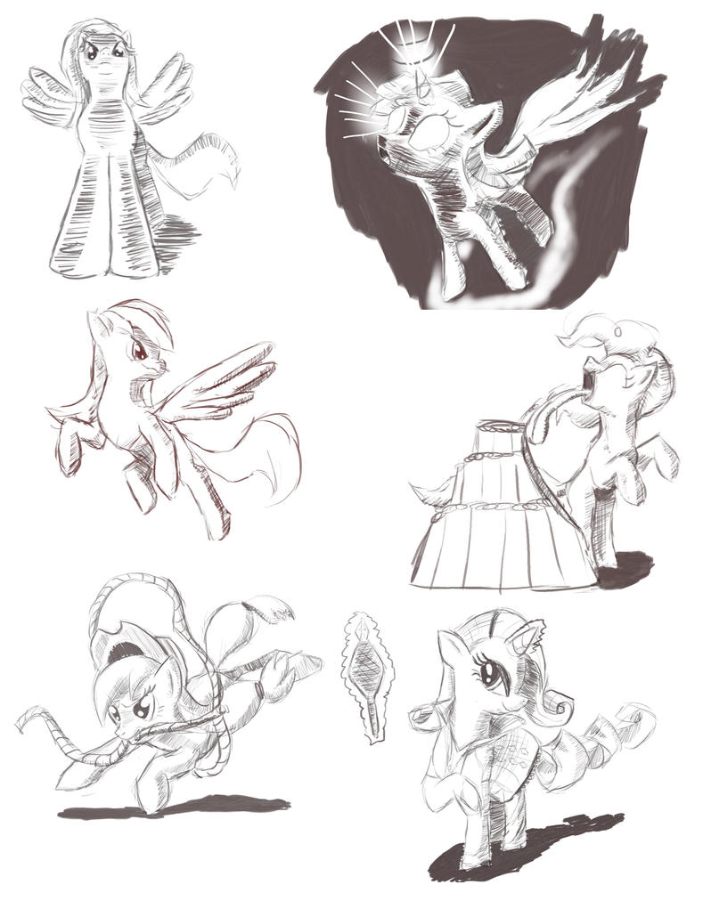 My Little Doodles by Tsitra360