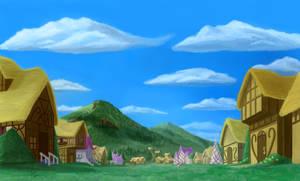 Ponyville Background