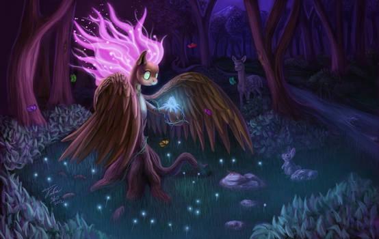 Night Bloom by Tsitra360