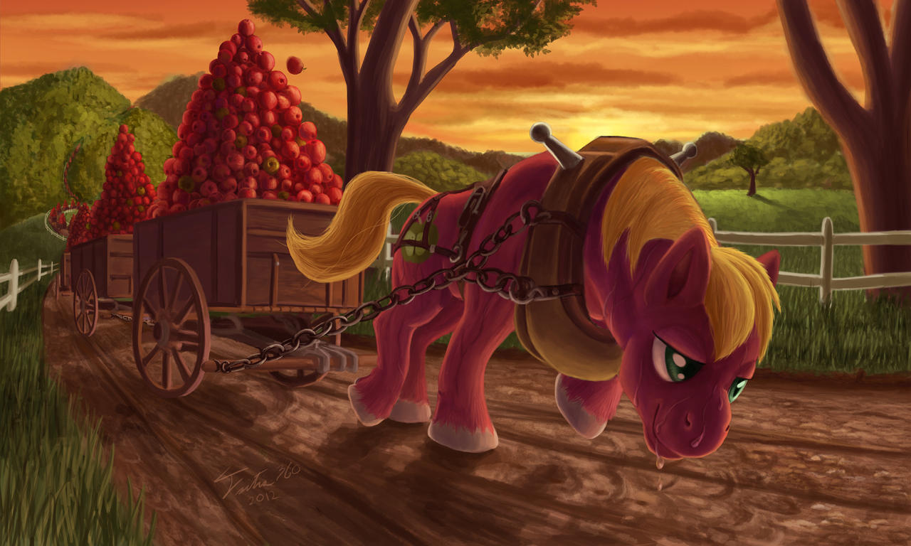 Applebloom Got Red Paint Poured On Her