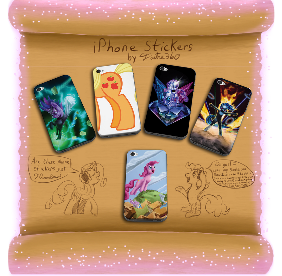 iPhone Sticker Designs_Tsitra360 by Tsitra360