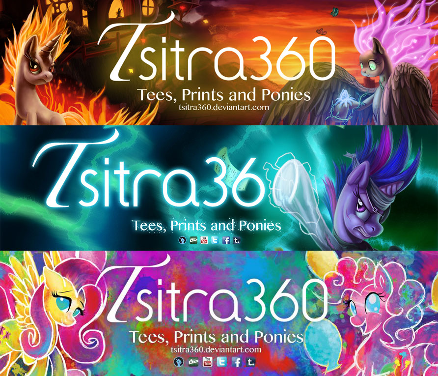 Banners by Tsitra360