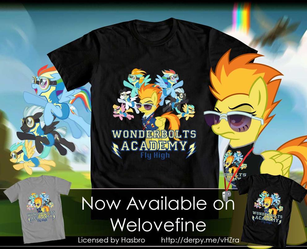 Wonderbolts Academy_Tee by Tsitra360