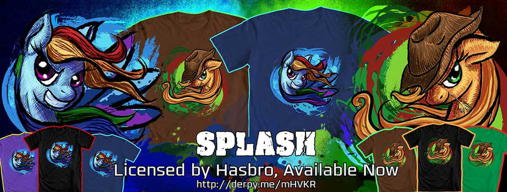 Splash Tees_Available Now! by Tsitra360