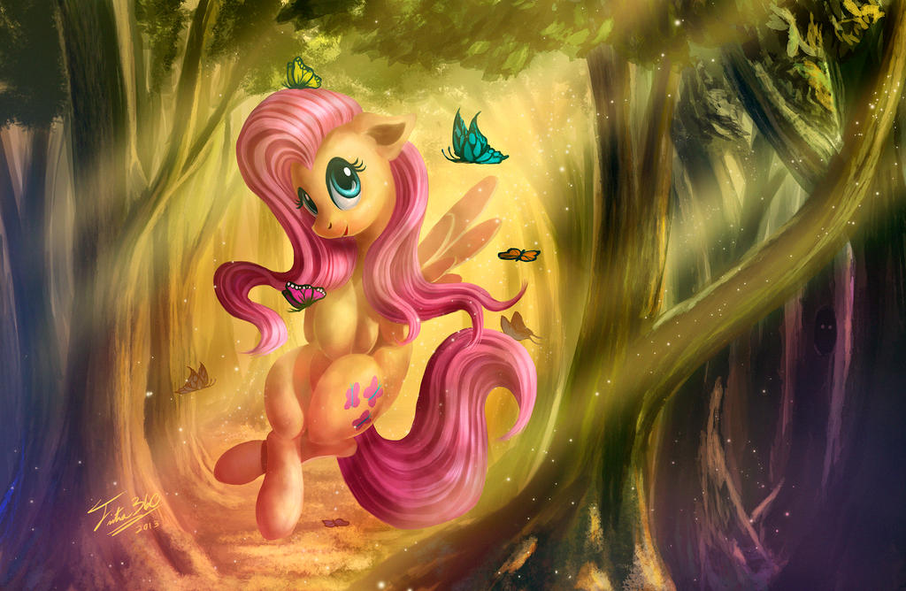 Forest Glow by Tsitra360