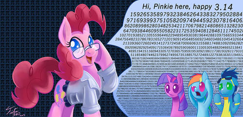 Pinkie Pi Day by Tsitra360