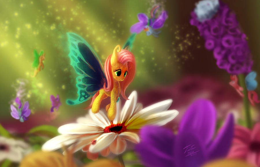 Flutterby by tsitra360 on deviantart for Flutterby wallpaper