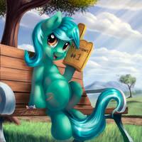 Lyra Button by Tsitra360