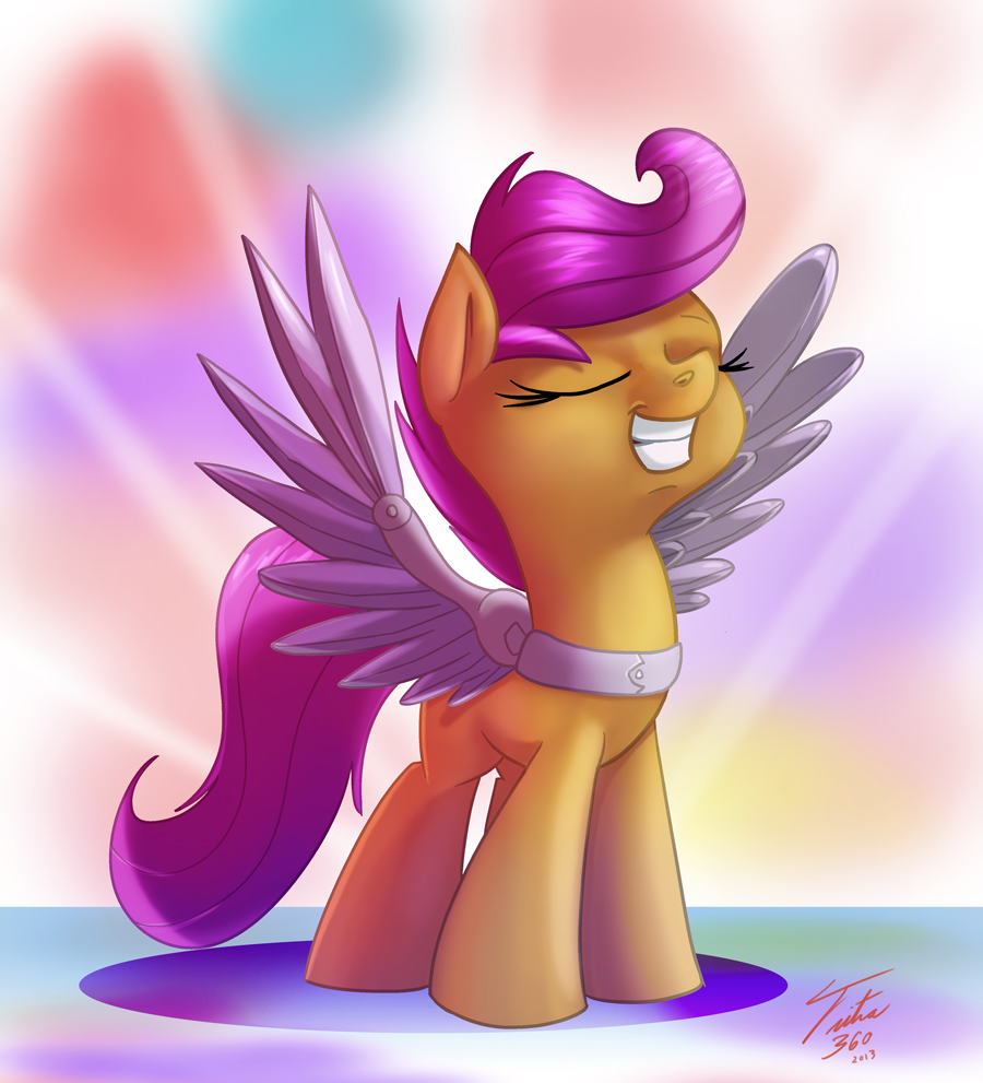 Scoots New Wings By Tsitra360 On Deviantart Fim episode, titled flight to the finish, i have created a page to show the world that her. scoots new wings by tsitra360 on deviantart