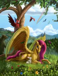 Flutterhorse
