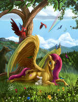 Flutterhorse by Tsitra360