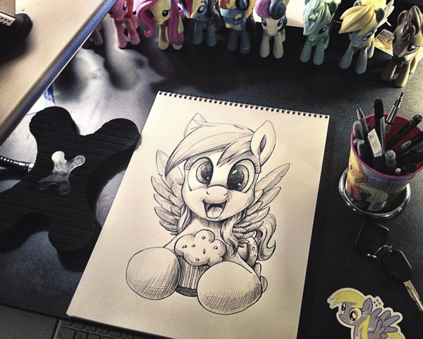Livestreaming Pen drawing! by Tsitra360