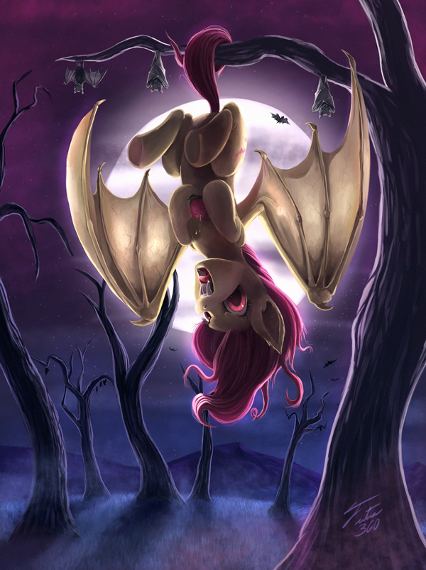 Shy but Batty by Tsitra360