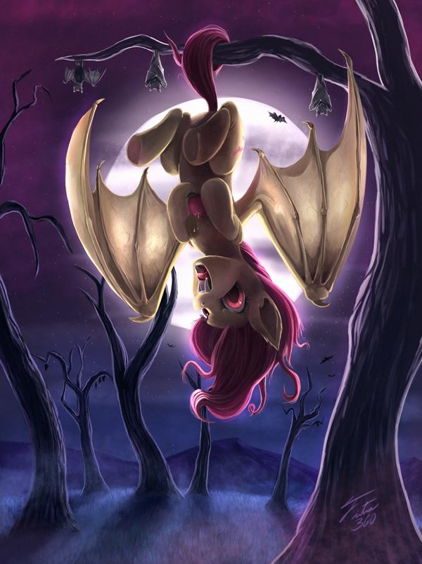 Shy but Batty by Tsitra360