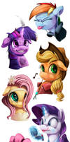 Teen Ponies_SpeedPaints