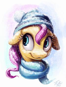 Snow Pony_Fluttershy