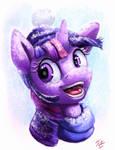 Snow Pony_Twilight
