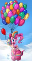 Rainbow Pinkie_Collab by Tsitra360