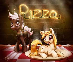 Soda and Pizza Pones by Tsitra360