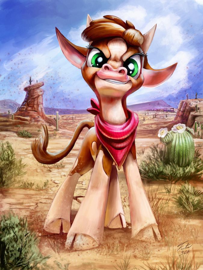 Arizona Cow