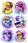 Pony Buttons 2016