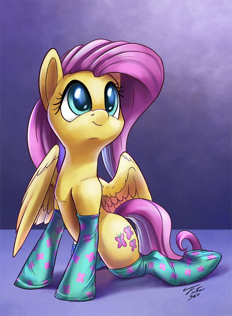 Flutter Socks by Tsitra360