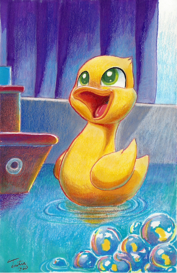 Ducky - Commission by Tsitra360