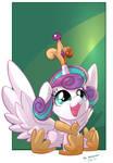 Princess FlurryHeart _ Tsitra360 and Vest Collab