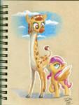 Gina Giraffe by Tsitra360