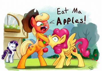 Eat Ma Apples by Tsitra360