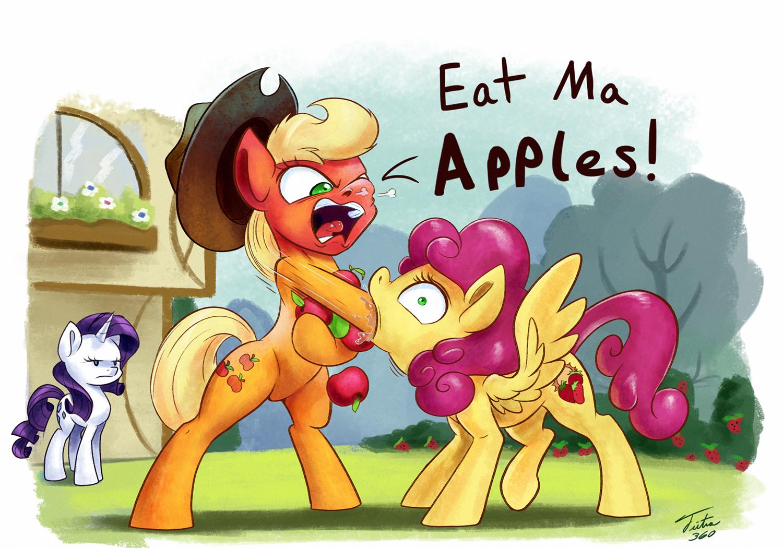 Eat Ma Apples by Tsitra360