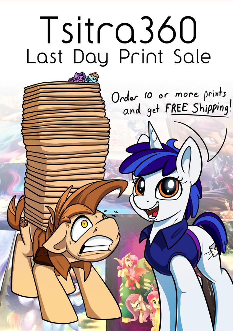 Prints Sale, LAST DAY! by Tsitra360