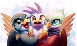 Bird Friends by Tsitra360