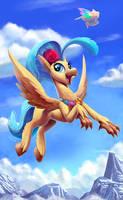 Princess SkyStar Hippogriff by Tsitra360